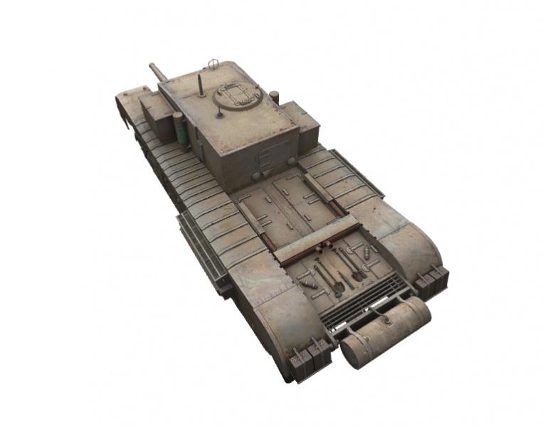 Fichier:Churchill Gun Carrier rear left.jpg