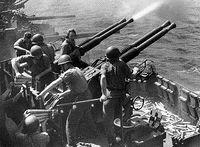 40-мм орудие Bofors AA.