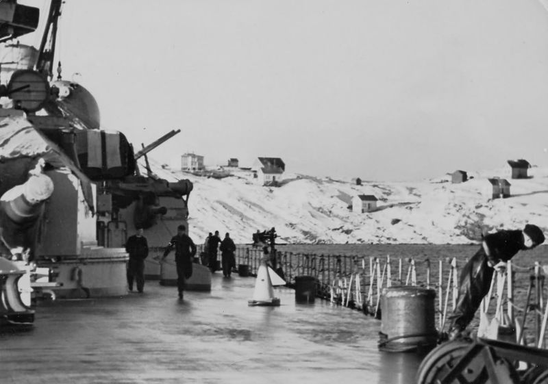 Файл:Scharnhorst in Norway winter.jpg