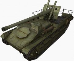 wot su-8 152 mm howitzer ml-20 mod. 1931