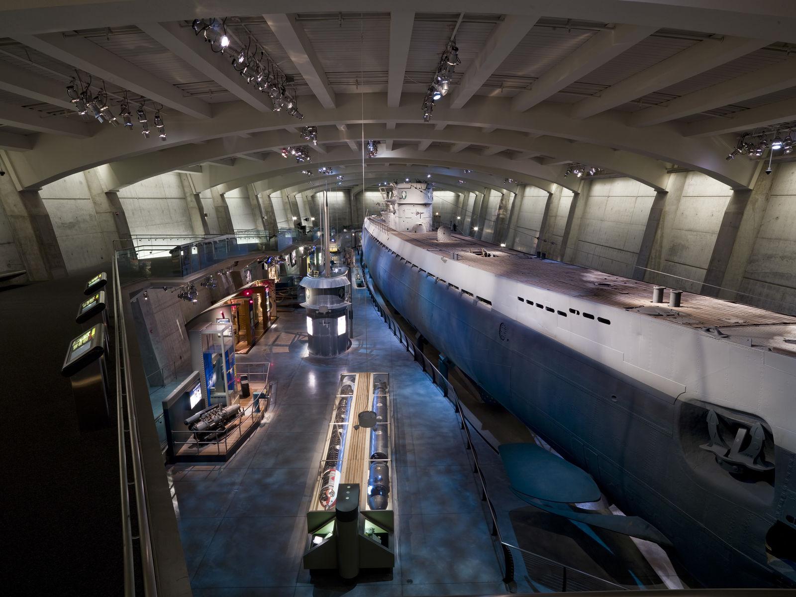 музей подводная лодка сша