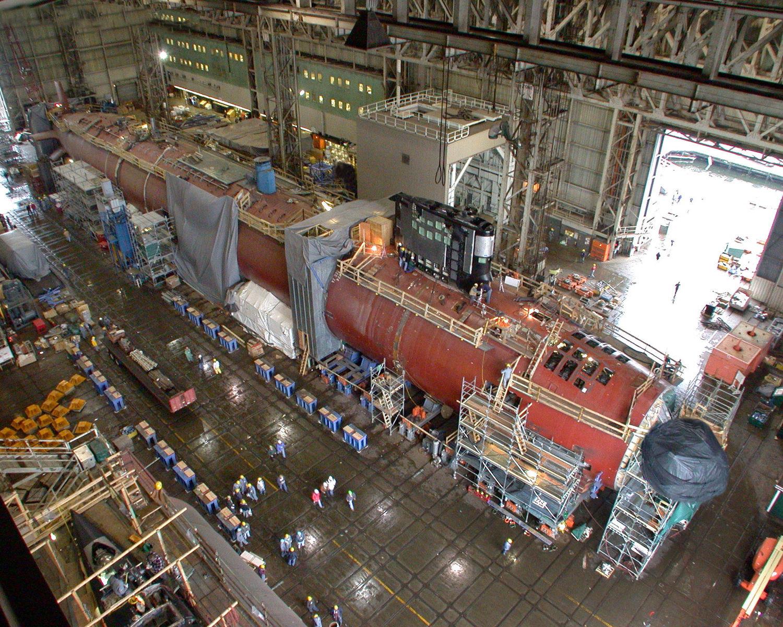 как варят корпус подводной лодки