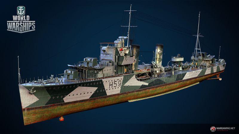 Файл:Gallant Тип Royal Navy.jpeg