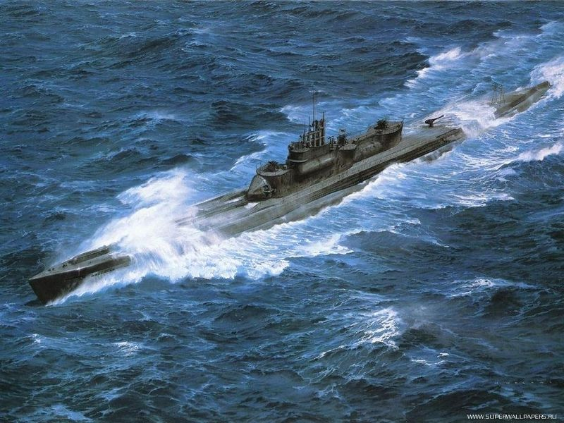 подводная лодка цунами