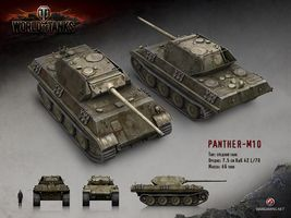 Image result for world of tanks panther m10