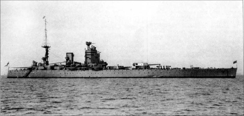 Файл:HMS Nelson вскоре после вступления в строй.png