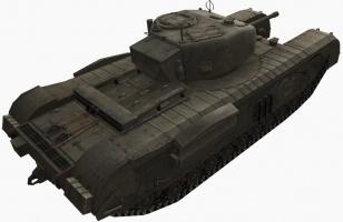 churchill vii tank