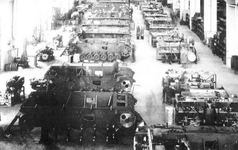 File:Daimler benz production line Pz III.jpg