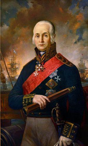 Федор Федорович Ушаков — великий русский флотоводец, адмирал.