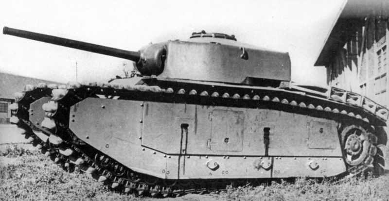 File:ARL 44 prototype with ACL 1 turret and 75mm SA 44 gun.jpg