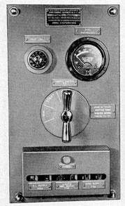 Панель управления гирокомпаса Arma Mark IX