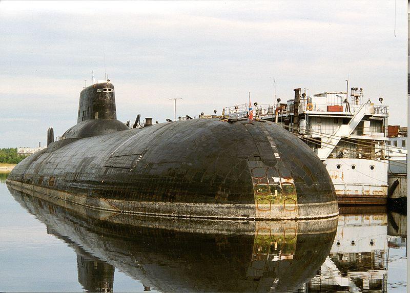 Атомная подводная лодка ТК-202 по проекту 941 «Акула». Классификация НАТО: SSBN «Typhoon»
