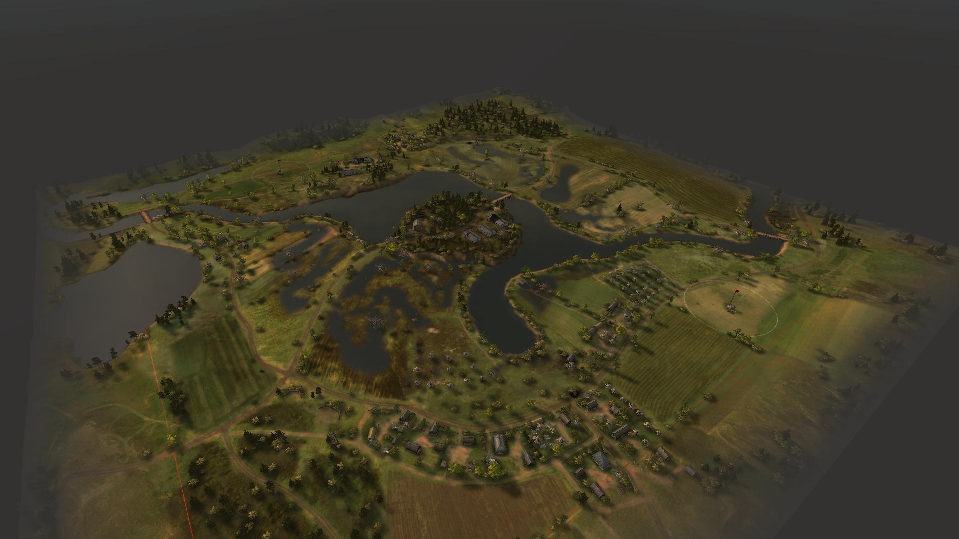 Обновлённая карта «Комарин».