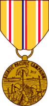 Медаль «За Азиатско-тихоокеанскую кампанию»