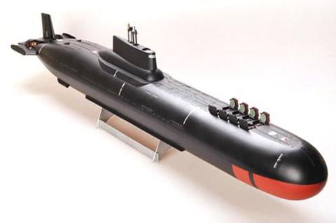 Атомная подводная лодка ТК-12 «Симбирск» по проекту 941 «Акула». Классификация НАТО: SSBN «Typhoon»