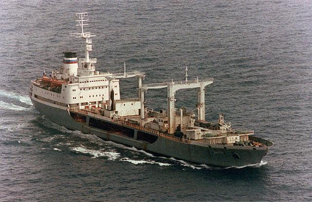 Файл:640px-Large ocean tanker  Dnestr  in 1993.jpg
