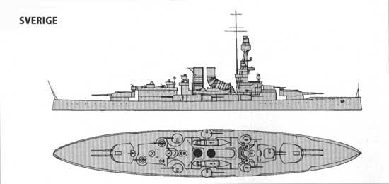 броненосец береговой обороны типа «Sverige»