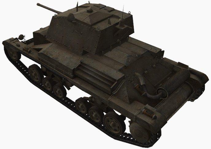 Fichier:Cruiser Mk. II rear left.jpg