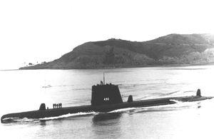 USS Volador (SS-490) в варианте GUPPY III