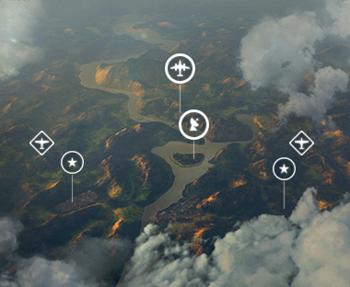 Игровая схема «Линия фронта»