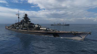 Непотопляемый Сэм — Bismarck
