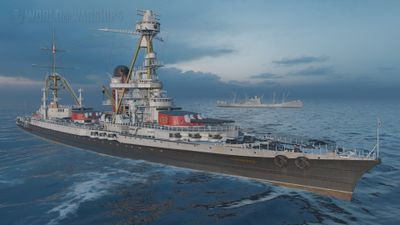 Океанский лайнер — Normandie