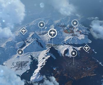 Игровая схема «Снежные берега»