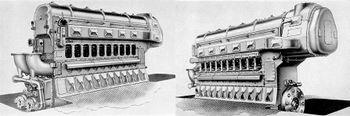 Дизель Fairbanks-Morse Model 38D8-1