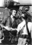 M4A3E8 Che guevarra in front of the E8 tank.jpg