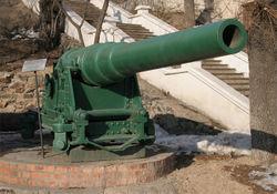 152-мм пушка Канэ с длиной ствола 45 калибров