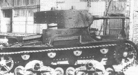 T-26 mod. 1933 with applique armour after running trials