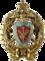 Знак об окончании полного курса наук Морского кадетского корпуса.