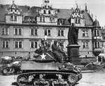 M5 Light Tank with the 761st Tank Battalion in Coburg, Germany, 21 April 1945.png