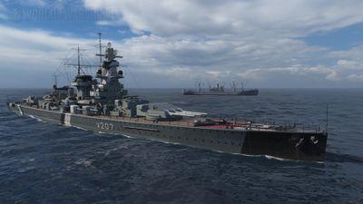 W207 — HSF Admiral Graf Spee
