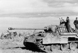 Panther tank on Eastern front near kharkov