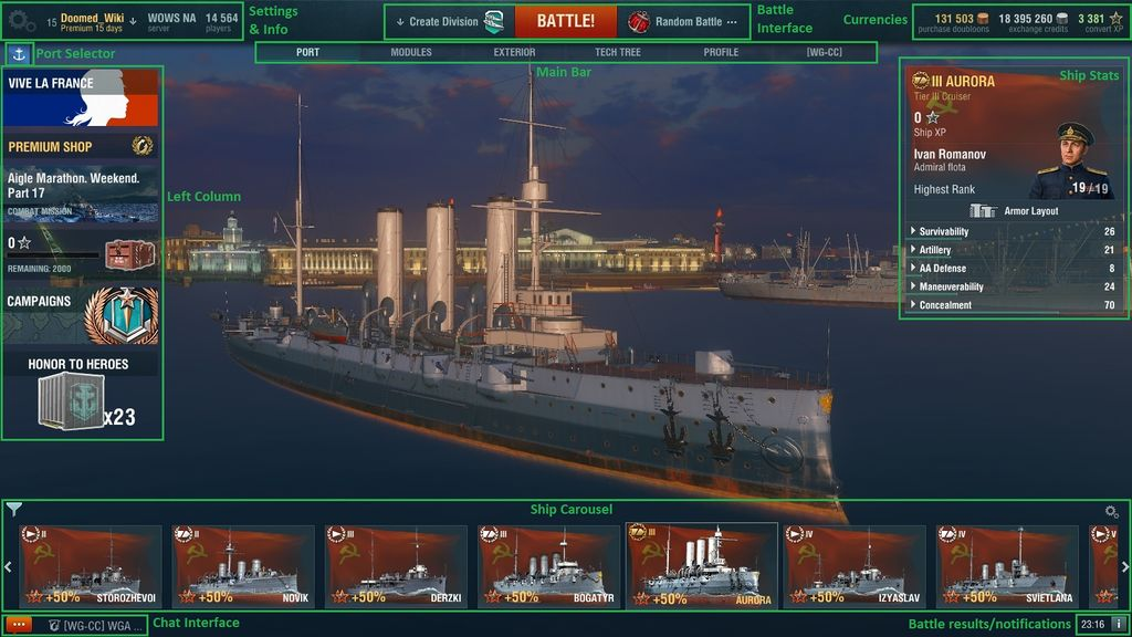 Port - Global wiki  Wargaming net