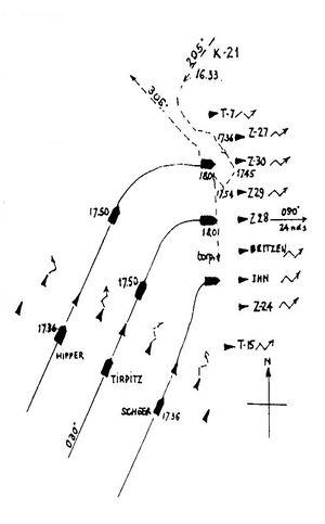 К-21_атакует_Tirpitz.jpg
