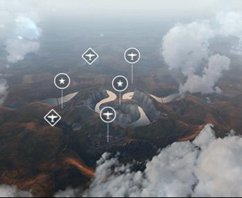 Игровая схема «Опасный участок»