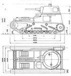 Leichttraktor Krupp measurements 1931 Diag.jpg