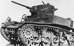 M3 Light Tank purchased in July 1942, with war bonds by the community of Banning, California.png
