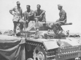 PzKpfw III Ausf L, somewhere in North Africa