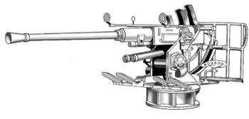 40-мм орудие Bofors