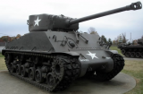 M4A3E8 Medium Tank at the Patton Museum in Ft Knox, Kentucky