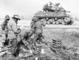 M4A3E8 Australian M4A3E8 on the Korean battlefield