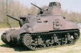 Medium Tank M3A1 Lee at the US Army Ordnance Museum