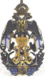 Нагрудной знак в память 300 летнего юбилея Общества Архангельских лоцманов имени Царя Михаила Федоровича.