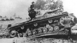 Panzer III during trials