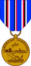 Медаль «За Американскую кампанию»