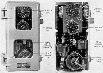 Анализатор-индикатор счислимого места Arma Mark V