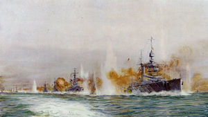 HMS-Lion-leading-the-Battle-Cruisers-at-Jutland-by-Lionel-Wyllie.jpg